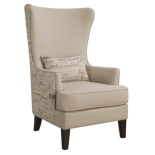 Philson Wingback Chair by One Allium Way