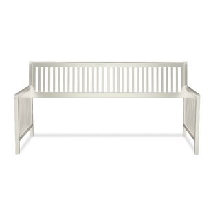 Andover Mills Chafin Wood Daybed Frame with Open-Slatted Back and Side Panels