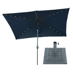 10' X 6.5' Rectangular Lighted Umbrella