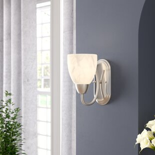 Best Price Stayton 1-Light Armed Sconce By Charlton Home
