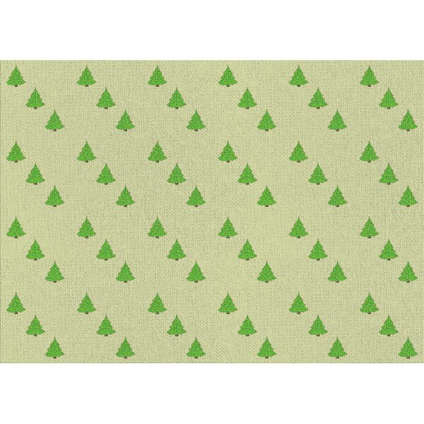 East Urban Home Wrapping Paper Green Area Rug Wayfair
