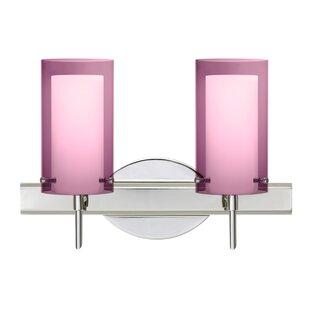 Besa Lighting Pahu 2-Light Vanity Light