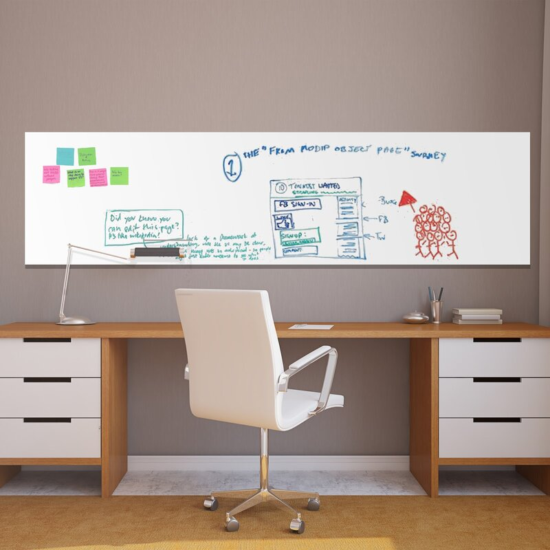 ebern designs whiteboard wall decal | wayfair.ca