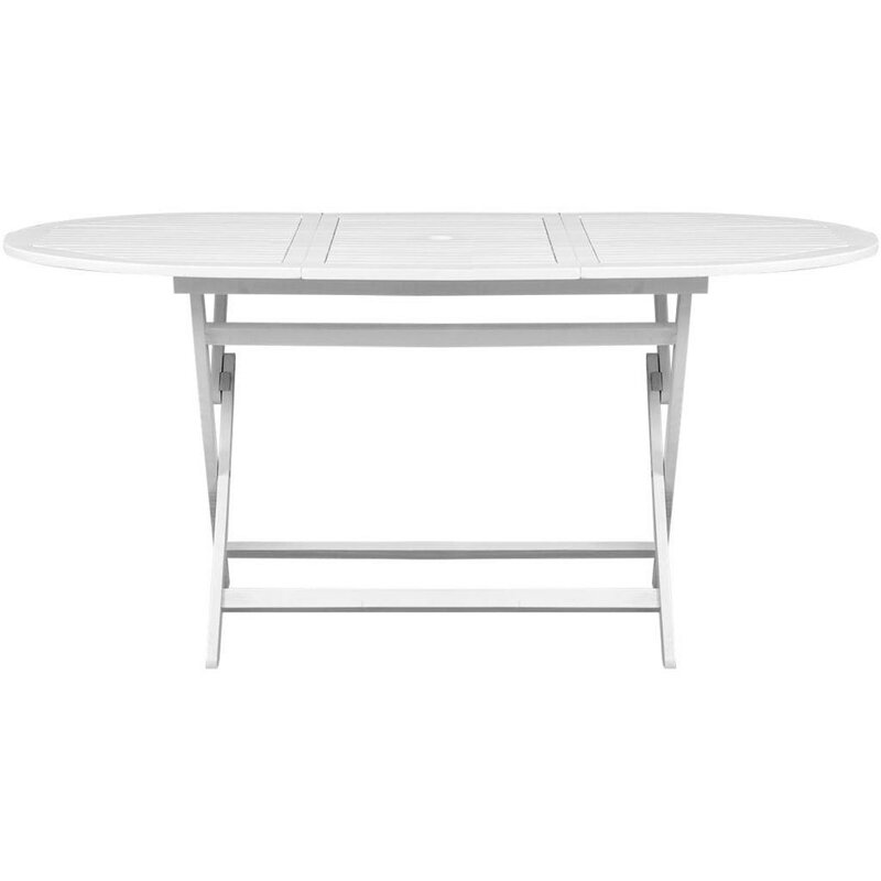 Carey Folding Wooden Dining Table