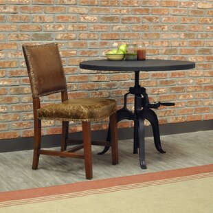 Aguilar Leather Upholstered Dining Chair
