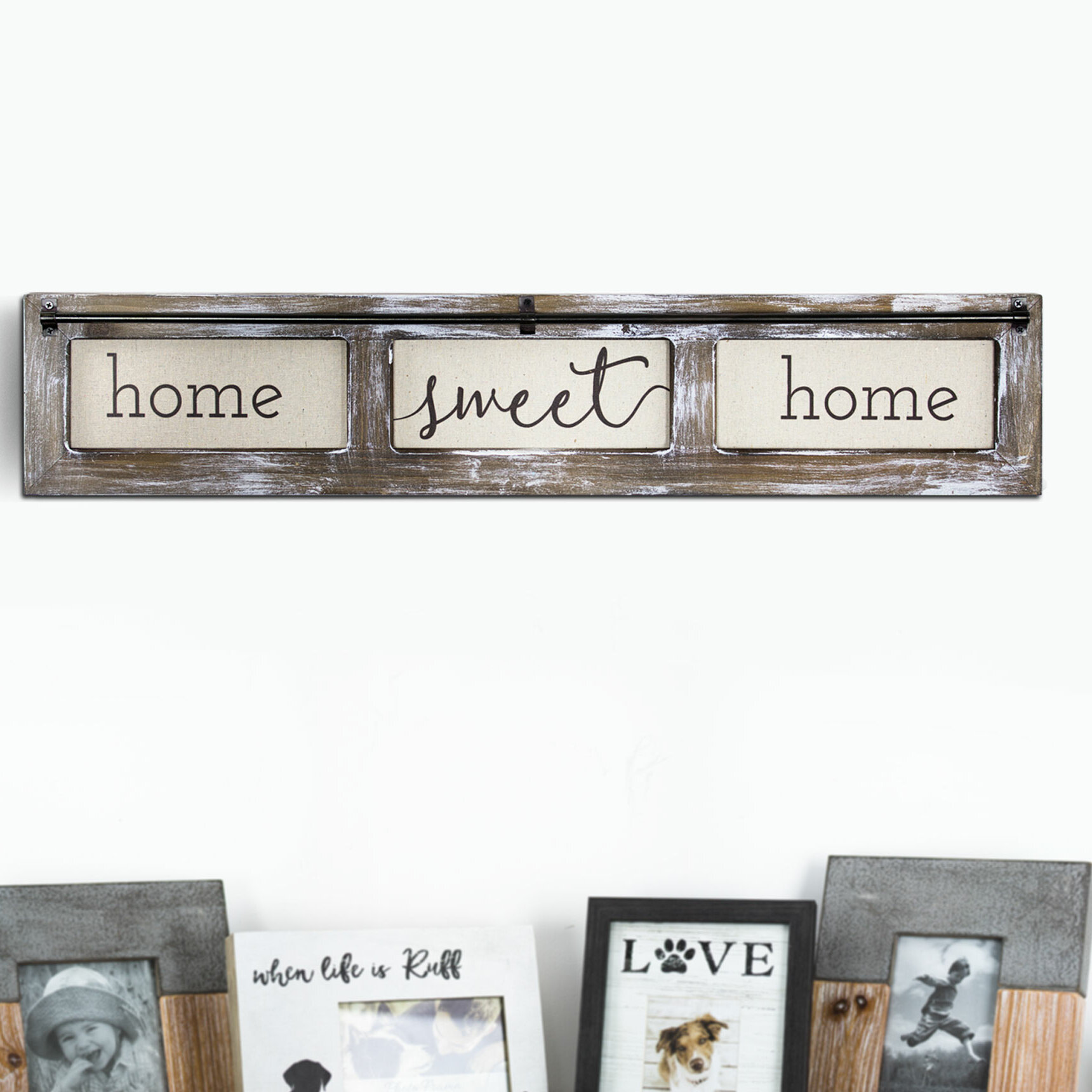 New Country Style Wooden Block Set Decor Love Faith Home sweet home Sign Blocks