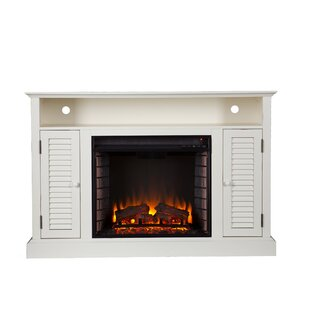 Great Price Scottsburg TV Stand for TVs up to 50 with Fireplace by Alcott Hill Reviews (2019) & Buyer's Guide