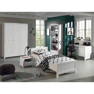 Review Eddy 5 Piece European Single Bedroom Set