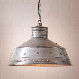 Gracie Oaks Lujan 1-Light Dome Pendant