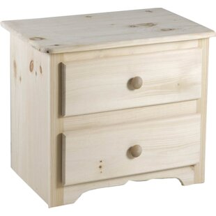 Laran Deluxe 2 Drawer Nightstand by Chelsea Home Furniture