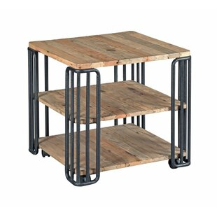 17 Stories Poppy Plank End Table