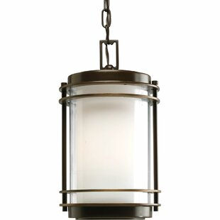 Big Save Triplehorn 1-Light Glass Pendant By Alcott Hill