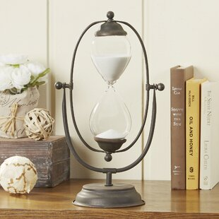 Timeless Hourglass Decor