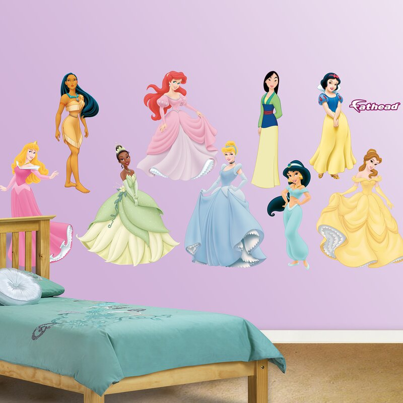 Delicieux Disney Princess Wall Decal