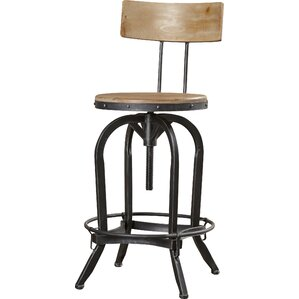Oria Adjustable Height Swivel Bar Stool  sc 1 st  Wayfair & Swivel Barstools Youu0027ll Love | Wayfair islam-shia.org