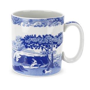 Blue Italian 9 oz. Mug (Set of 4)