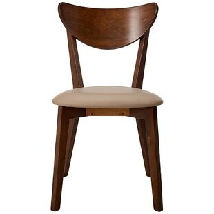 Compare Waylon Wooden Dining Chair (Set of 2) by George Oliver Reviews (2019) & Buyer's Guide
