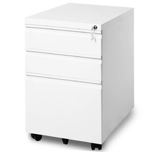 Mobile Filing Container 3 Drawers Desk Filing Container By Ebern Designs