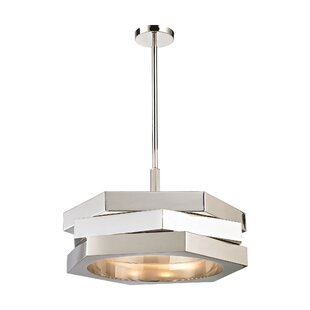 Orren Ellis Deniece 3-Light Pendant