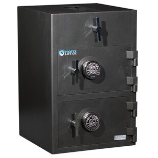 Protex Safe Co. Top Loading Commercial Depository Safe with Electronic Lock