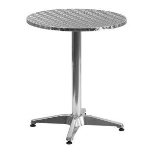 Order Clarendon Aluminum Bistro Table ByZipcode Design