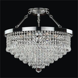 Glow Lighting Spellbound 5-Light Semi-Flush Mount