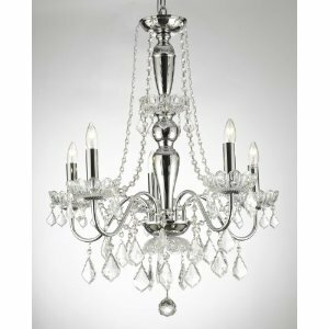 House of Hampton Holton Mini Swag 5-Light Chandelier