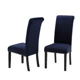 Parton Velvet Upholstered Parsons Chair (Set of 2) by House of Hampton®