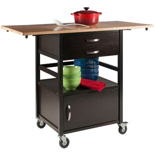 Withrow Kitchen Cart Red Barrel Studio
