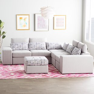 Ayanna L-Shaped Modular Sectional by Zipcode Design