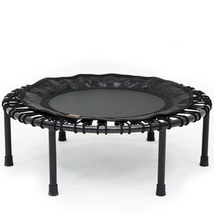 SKYBOUND 3' Nimbus Round Folding Fitness Rebounder Trampoline with Free Carrying Case