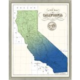 California Portrait Framed Art You Ll Love In 2020