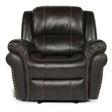 Roucourt Faux Leather Manual Recliner by Winston Porter