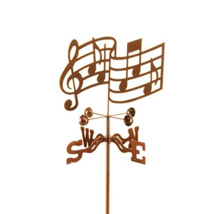 Musical Notes Weathervane By EZ Vane Inc