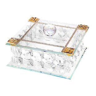 Best Reviews Crystal Jewelry Box ByRosdorf Park