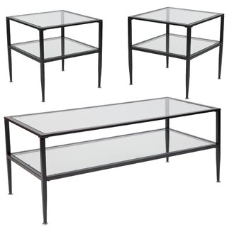 Albie 3 Piece Coffee Table Set by Andover Mills SKU:AB584830 Check Price