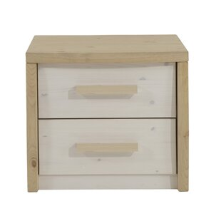 Sylmar 2 Drawer Bedside Table By 17 Stories