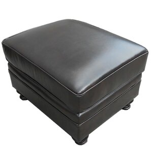Laredo Leather Ottoman by At Home Designs