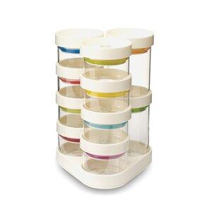 SpiceStoreu2122 Carousel Spice Jars (Set of 10)