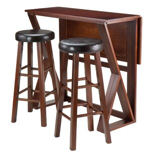 Read Reviews Brayan 3 Piece Pub Table Set By Latitude Run