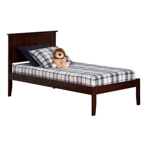 Alanna Extra Long Twin Platform Bed with Open Foot
