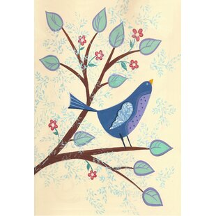 spring bluebird garden flag - Small Garden Flags