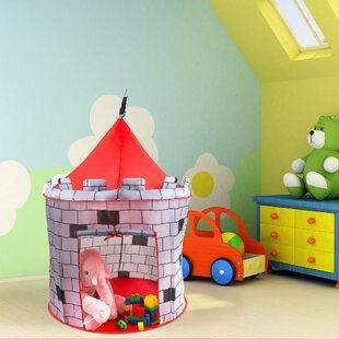 Hey! Play! Medieval Castle Kids Pop-Up Play Tent