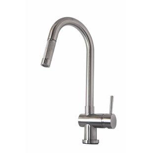 Virtu USA Huya Single Handle Kitchen Faucet