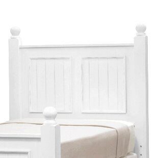 Mary Jane Jane Poplar Wood Panel Headboard