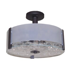 Sabrina 3-Light Semi Flush Mount