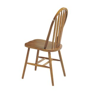 Longshore Tides Rayna Solid Wood Dining Chair (Set of 4)