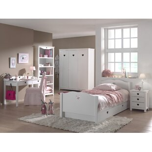 Amori 6 Piece Bedroom Set by Vipack