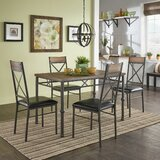 Wiebe 5 Piece Dining Set by Foundry Select