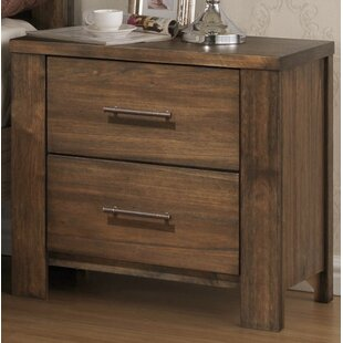 Cayuse 2 Drawer Nightstand by Loon Peak